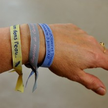 Guests wristbands 12mm