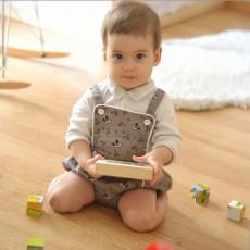Patron de de couture bébé barboteuse enfant Sirli