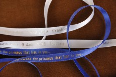 Souvenir ribbon