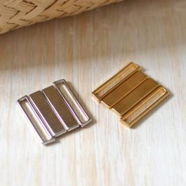 Fermoir maillot de bain or ou argent 25 mm