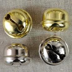 Grelot doré ou nickelé 40 mm