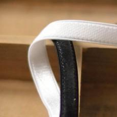 Elastique anti-glisse silicone 10 mm / côté silicone