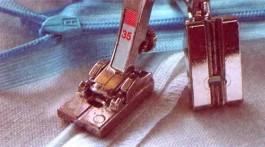 Pied 35 pour fermetures à glissière invisibles