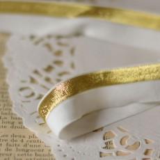Biais élastique lurex couture FDS