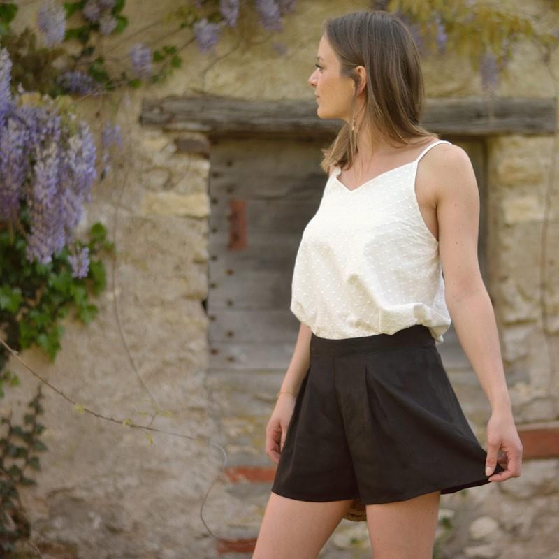 Patron couture Short Mouffetard Femme