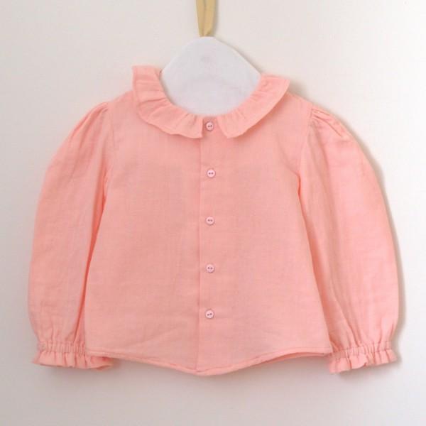 Patron couture Chemise blouse petite Sitelle à volants