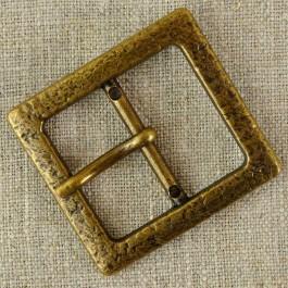 Boucle de ceinture métal bronze vieilli