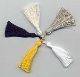 Pampille coton 8 cm