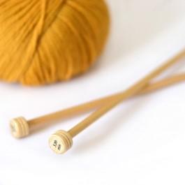 aiguilles à tricoter bois 4, 4.5, 5, 5.5, 6, 8, 9, 10, 12, 15 mm Knitpro