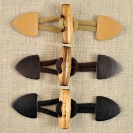 Brandebourg cuir 12 cm