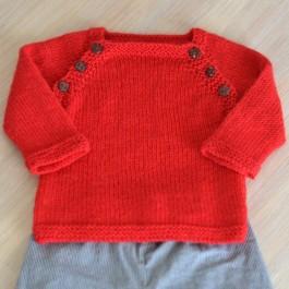 Modèle à tricoter Brassière Lucien