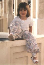 patron de couture pantalon fille