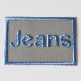 Écusson jeans phosphorescent