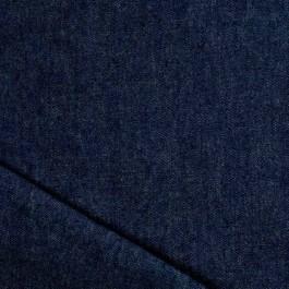 Tissu denim souple foncé au mètre pour couture