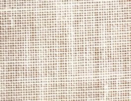 Toile de lin blanc à broder
