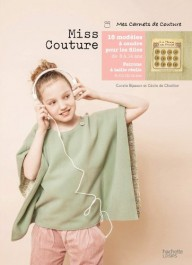Livre de patron de couture pour adolescente Miss couture