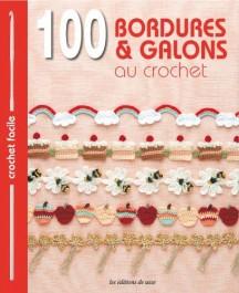 Livre 100 bordures & galons au crochet