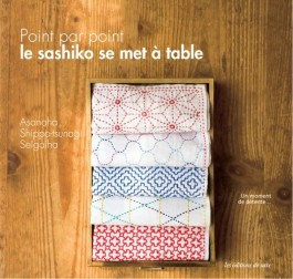 Livre Point par point, le sashiko se met à table