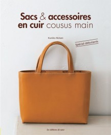Livre sacs et accessoires en cuir cousus main