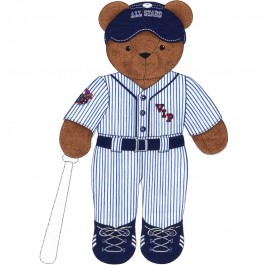 "Kit couture nounours ""Base ball"""