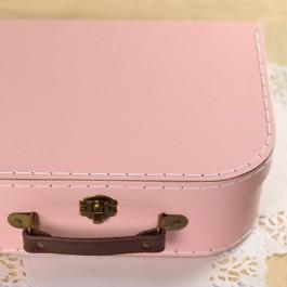 Boite à couture rose vaisette carton