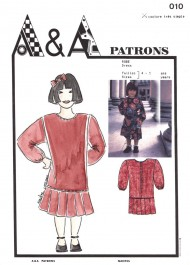 Patron de robe enfant P010