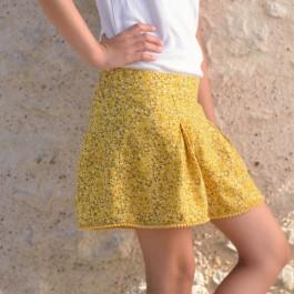 Patron de couture short fille 2-10 ans