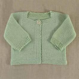 Modèle du cardigan Victoire tricoté en Sunny 098