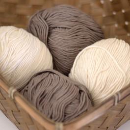 Pelote coton bio coton nat Fonry
