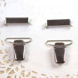 Pinces et clips de réglage 1er prix pour bretelles 24, 30 et 36 mm par lot de 2