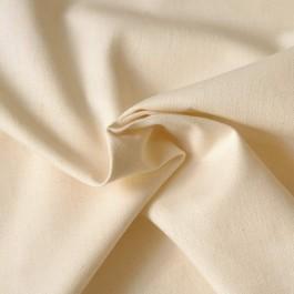 Tissu toile de chanvre et coton bio à coudre écru