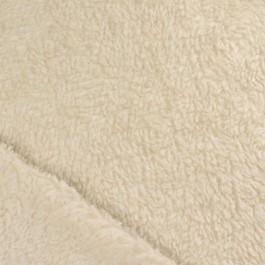Fourrure en coton biologique pour la couture de gilet de berger enfant, chaussons