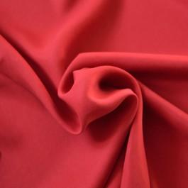 Tissu Tencel au mètre rouge