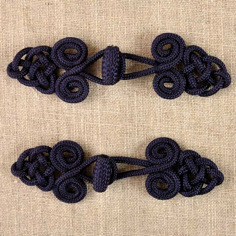 Brandebourg noeuds bleu 100 mm a a patrons for Brandebourg mercerie