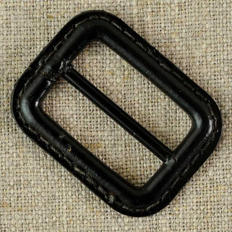 Boucle de ceinture cuir et métal, marron ou noir - A A Patrons 70fce5cc667