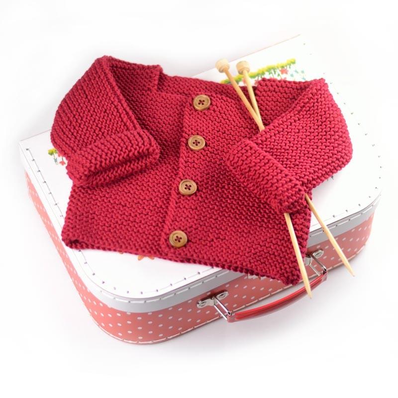 kit tricot pour fille