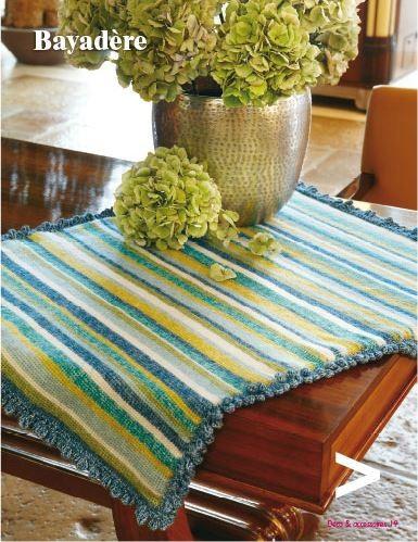 livre le crochet tunisien d co accessoires a a patrons. Black Bedroom Furniture Sets. Home Design Ideas