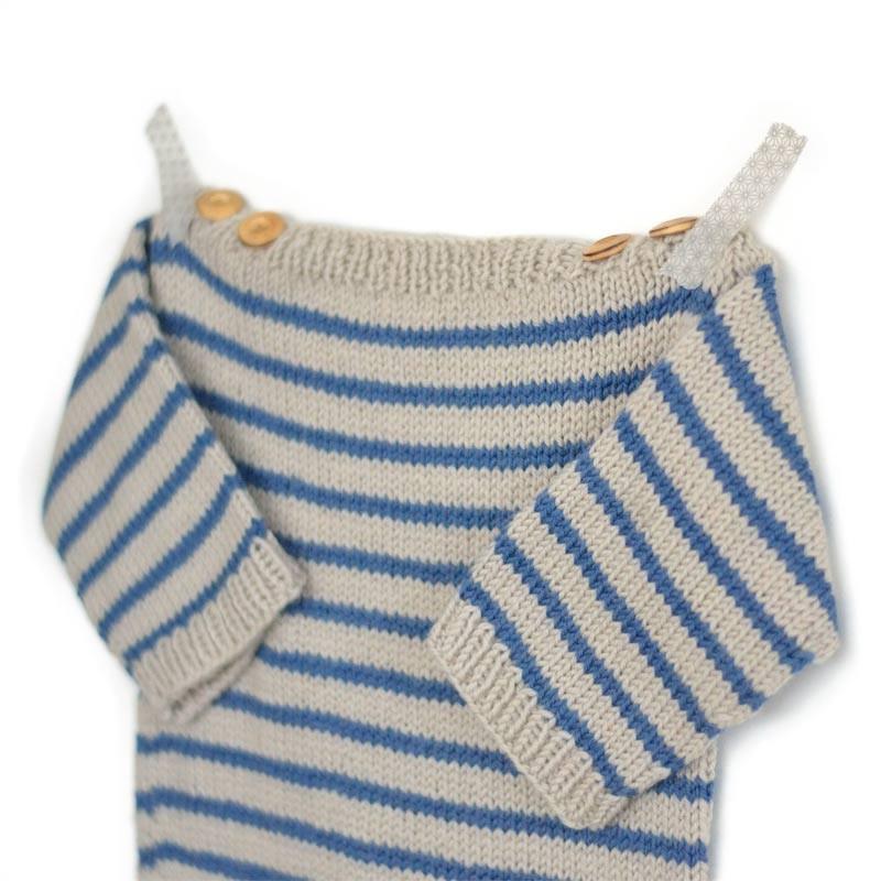 kit tricot b b marini re augustin facile pour d butant a a patrons. Black Bedroom Furniture Sets. Home Design Ideas