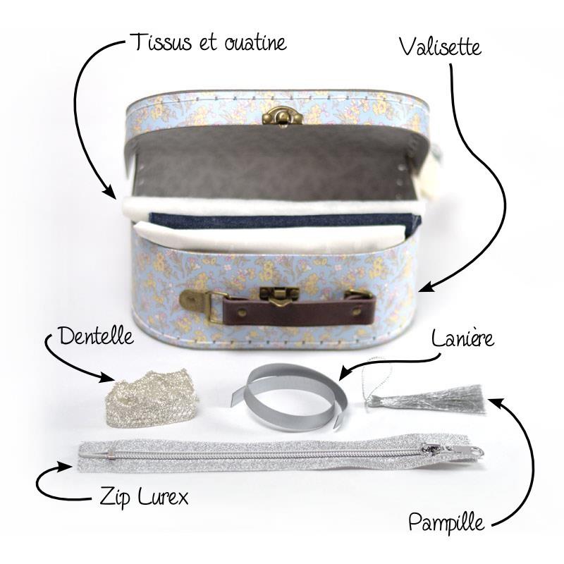 kit couture pochette d butant id e cadeau diy a a patrons. Black Bedroom Furniture Sets. Home Design Ideas
