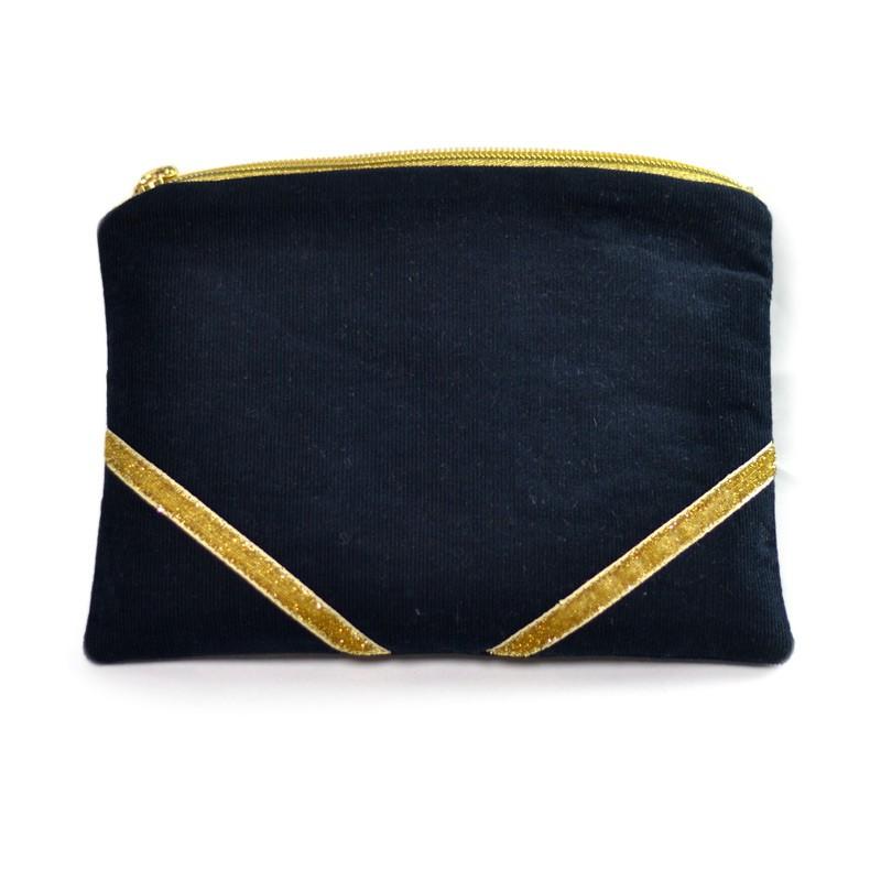 kit couture pochette paillette d butant id e cadeau de no l diy accessoire mode femme. Black Bedroom Furniture Sets. Home Design Ideas