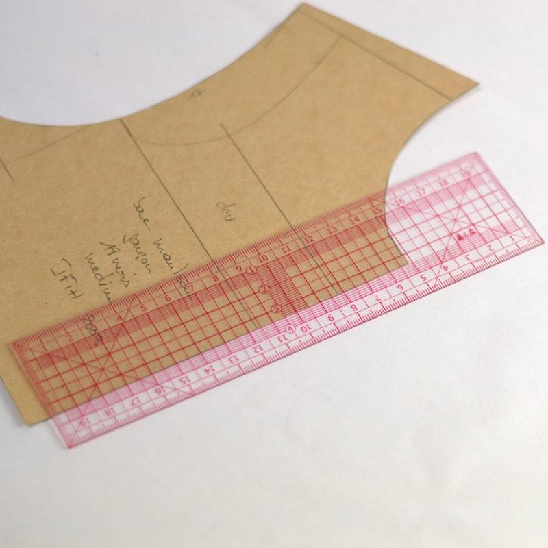 R gle japonaise couture mat riel 20 cm a a patrons - Regle pour mesurer ...