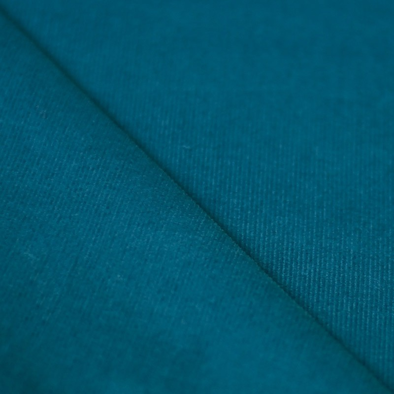 tissu velours milleraies bleu canard a a patrons. Black Bedroom Furniture Sets. Home Design Ideas