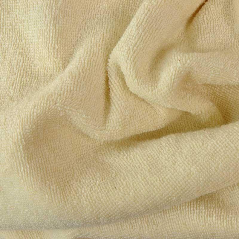 tissu ponge coton bio cru a a patrons