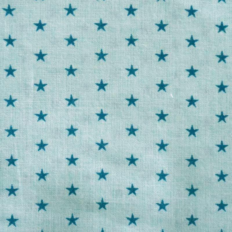 Tissu imprim toiles bleu turquoise a a patrons - Tissus bleu turquoise ...