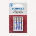 Assortiment aiguilles cuir pour machines à coudre Schmetz