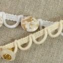 Bande à brides élastiques 8 mm
