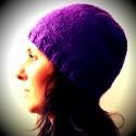 Modèle bonnet Violette