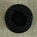 Bouton rond automatique métal noir 16-20 mm