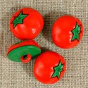 Bouton tomate 15mm