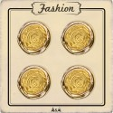 Bouton rose d'or